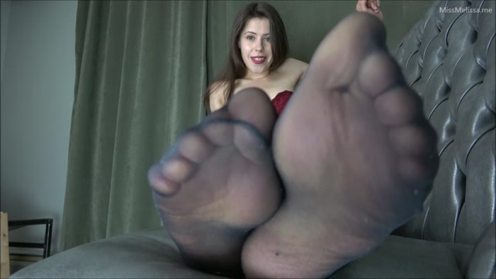 Miss Melissa - Punished By My Nylon Feet