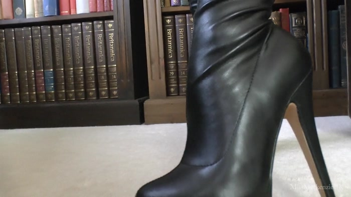 Miss Mackenzie - You Will Be My New High Heel Boot Slave