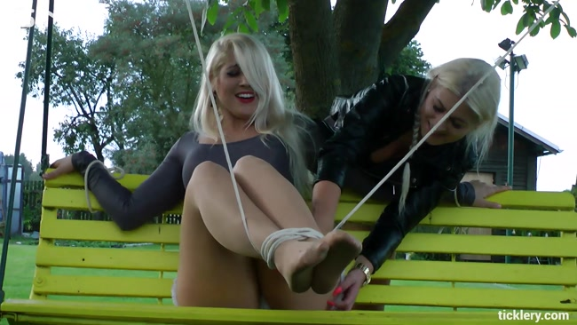 Gorgeous Blonde Tickle Freaks - Cam 2