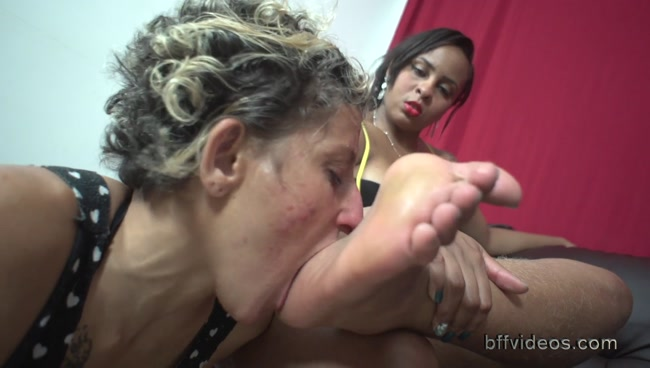 Bffvideos - Worship Angela Sweaty Feet On The Couch Pt.3