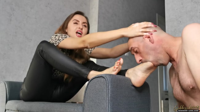 Goddess Lena - Pamper The Mistress Feet