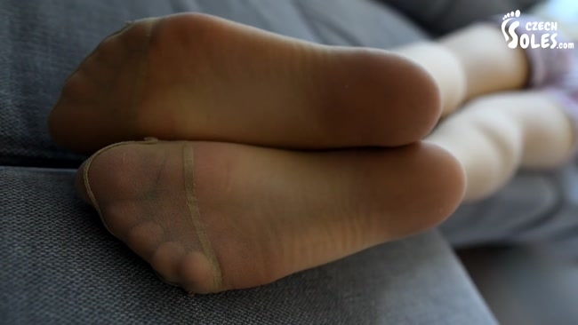 Czech Soles - Smelly Pantyhose Are Paying For Her Rent