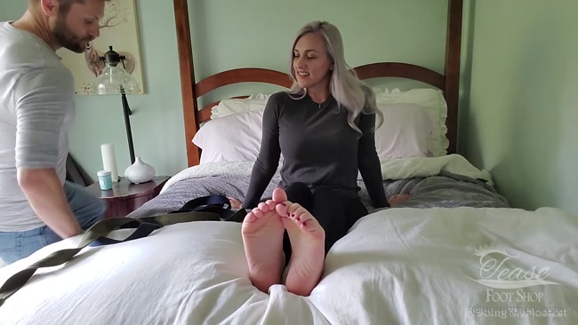 doingthemostest - Tied up and tickled a lot