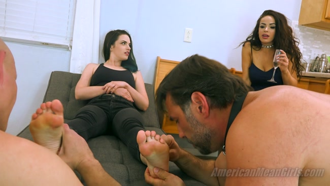 The Mean Girls – Princess Gemma's First Foot Worship