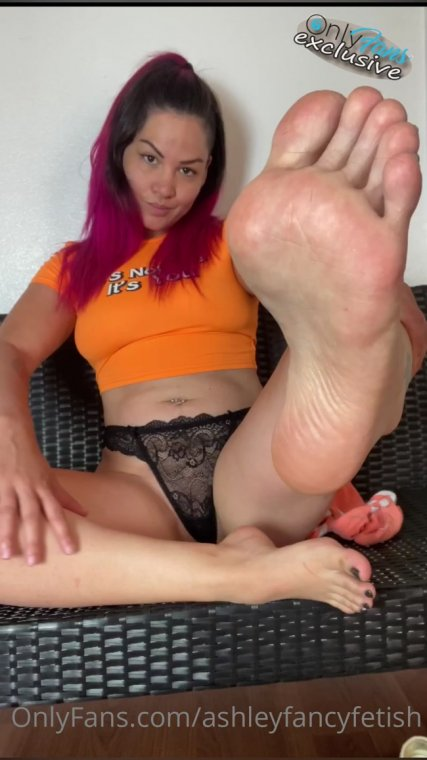 ashley fancy fetish - socks and soles joi